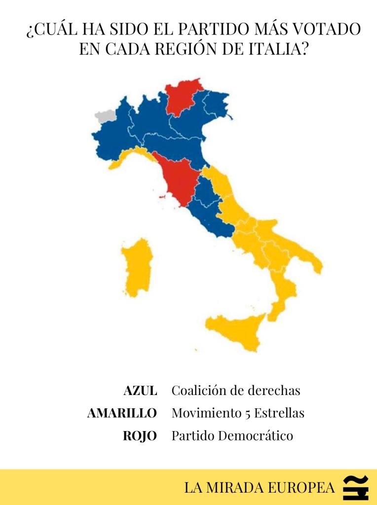 ITALIA VOTO REGIONES