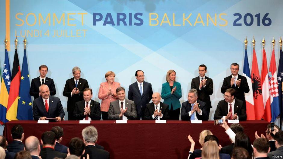 Cumbre balcánica en París en 2016 (imagen de archivo).