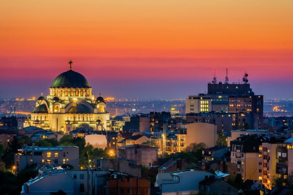 Templo ortodoxo de San Sava en Belgrado.